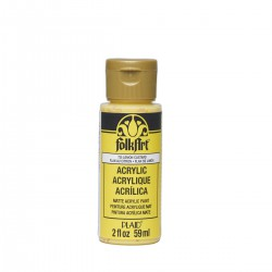 FolkArt Acrylic Colors 59ml Lemon Custard
