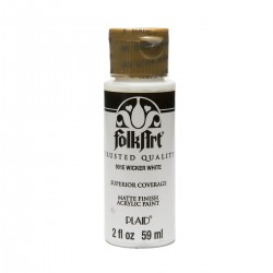 FolkArt Acrylic Colors 59ml Wicker White
