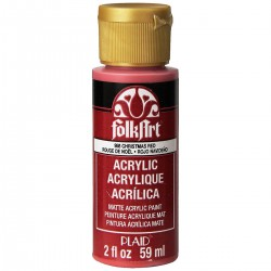 FolkArt Acrylic Colors 59ml Christmas Red