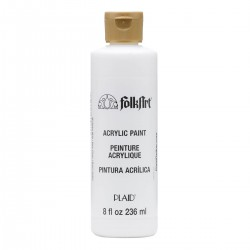 FolkArt Acrylic Colors 236ml Wicker White