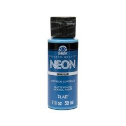 FolkArt Neons 59ml Blue