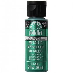 FolkArt Metallics 59ml Emerald Green