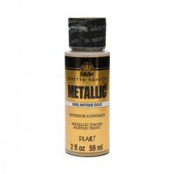 FolkArt Metallics 59ml Antique Gold