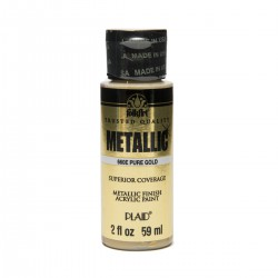 FolkArt Metallics 59ml Pure Gold