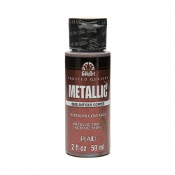 FolkArt Metallics 59ml Antique Copper