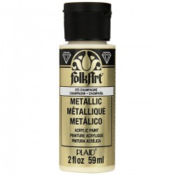 FolkArt Metallics 59ml Champagne