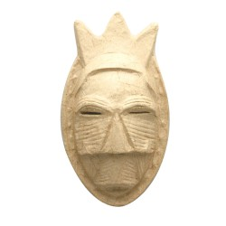 Mask in cardboard - Etic