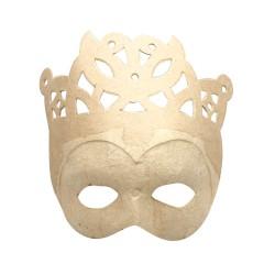 Mask in cardboard - Crown
