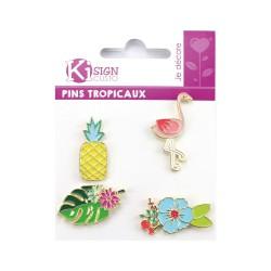 Pins - Tropical (4 pcs)