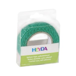 Lace Tape  2m x 15mm Turquoise