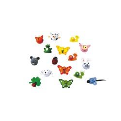 Animals shapes assortment 96 pcs