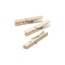 Wood.clothes pegs 72mm x 8mm (50 pcs)