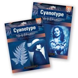 Cyanotype Pretreated Fabric Sheets 216 x 279 mm, 10 pcs