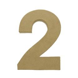 Paper Shape Number 20x13.75x2.5 cm 2