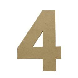 Paper Shape Number 20x13.75x2.5 cm 4