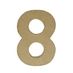 Paper Shape Number 20x13.75x2.5 cm 8