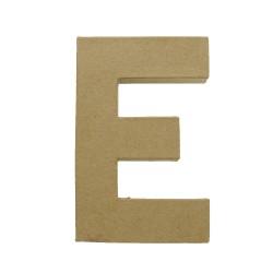 Paper Shape Letter 20x13.75x2.5 cm E