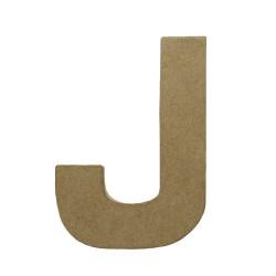Paper Shape Letter 20x13.75x2.5 cm J