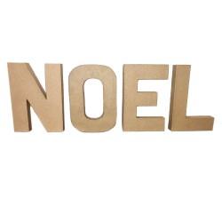 Paper Shape Letter 20x13.75x2.5 cm NOEL
