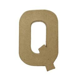 Paper Shape Letter 20x13.75x2.5 cm Q