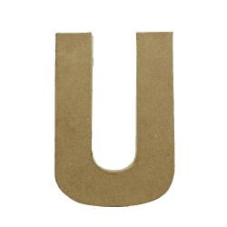 Paper Shape Letter 20x13.75x2.5 cm U