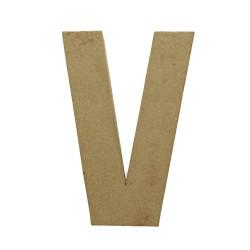 Paper Shape Letter 20x13.75x2.5 cm V