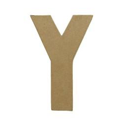 Paper Shape Letter 20x13.75x2.5 cm Y