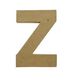 Paper Shape Letter 20x13.75x2.5 cm Z