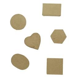 Paper Shape Micro Box 6 ass