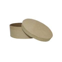 Paper Shape Box Oval
