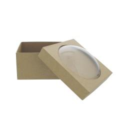Paper Shape Box Square/Dome