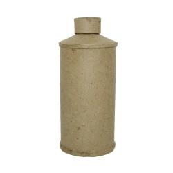 Paper Shape Talc tin round7.5x17 cm