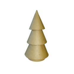 Set conical trees 175mm x 97mm (10 pcs)