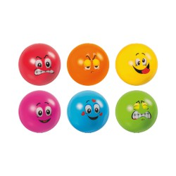 Stressball 6 motifs / colours