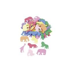 CreaSoft Foam Animals (60 pcs)