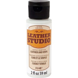Leather Studio Paint 59ml White