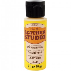 Leather Studio Paint 59ml Yellow