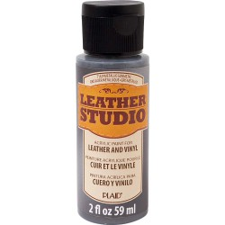 Leather Studio Paint 59ml Metallic Gunmetal