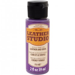 Leather Studio Paint 59ml Amethyst