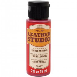 Leather Studio Paint 59ml Ruby
