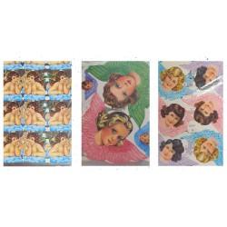 LOT 21 - Poetry sheets Chromos Scraps - Angels retro (1440 pcs)