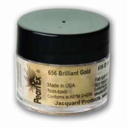Pearl Ex Powered pigments 3g Brilliant Gold
