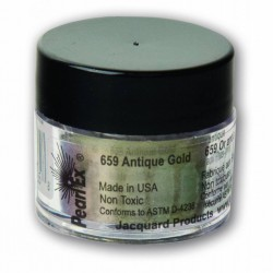Pearl Ex Powered pigments 3g Antique Gold