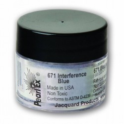 Pearl Ex Powered pigments 3g Interference Blue