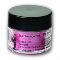 Pearl Ex Powered pigments 3g Flamingo Pink
