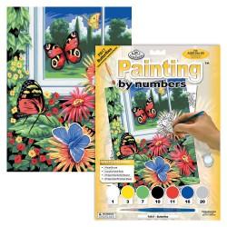 Paint by No. Junior 22,5cm x 30cm Butterflies