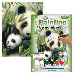 Paint by No.Junior 22,5x30cm. Panda