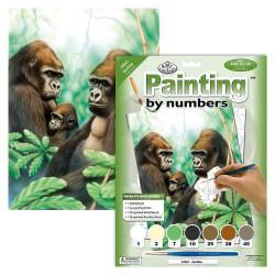 Paint by No. Junior 22,5cm x 30cm Gorillas