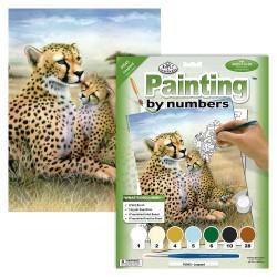 Paint by No. Junior 22,5cm x 30cm Leopard