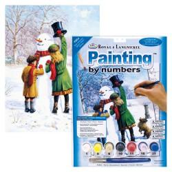 Paint by No. Junior 22,5cm x 30cm Winter Wonderland